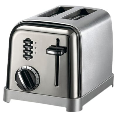 Cuisinart Black Appliances Classic 2-Slice Toaster