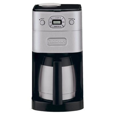 Cuisinart Grind and Brew Thermal 10 Cup Coffee Maker