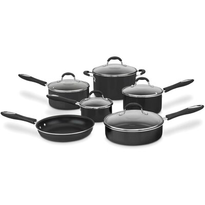 Advantage 11-Piece Nonstick Aluminum Cookware Set
