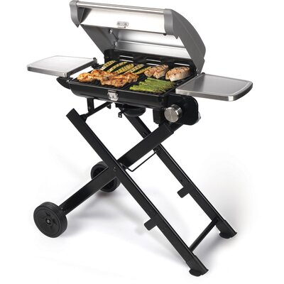 Cuisinart All-Foods Roll-Away Portable LP Gas Outdoor Grill