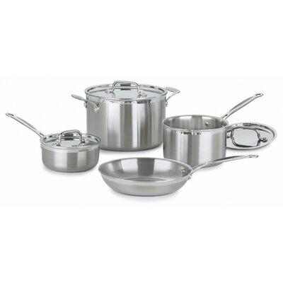 Cuisinart MultiClad Pro 7-Piece Cookware Set