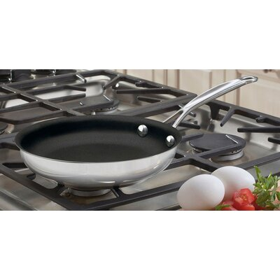 """Cuisinart Chef's Classic Stainless Steel 8"""" Nonstick Skillet"""
