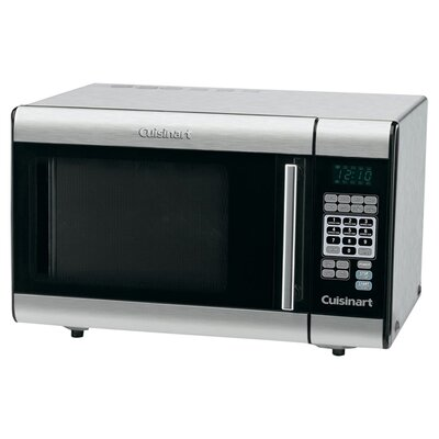 <strong>Cuisinart</strong> 1.0 Cu. Ft. 900 Watt Microwave in Brushed Stainless