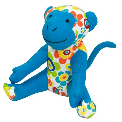 Allen Ave Color Zoo Mica the Monkey Stuffed Toy