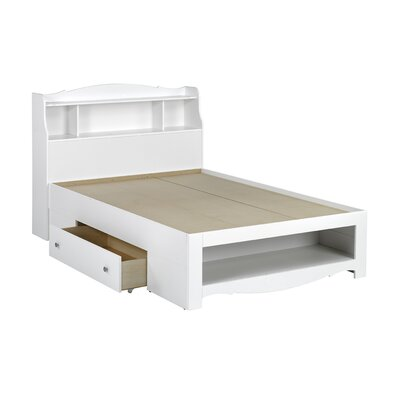 Nexera Dixie Bed in White Lacquer