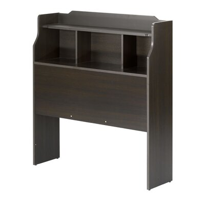 Nexera Dixon Bookcase Headboard in Espresso