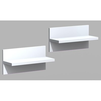 Nexera Liber-T Wall Shelf (Set of 2)