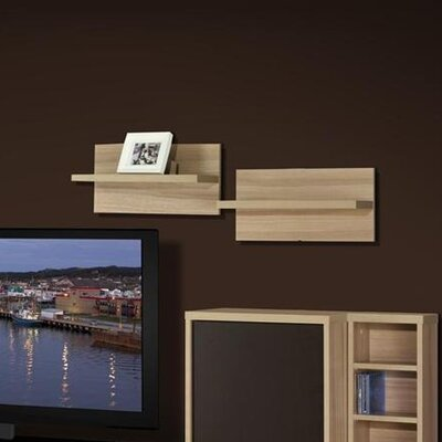 Nexera Infini-T Wall Shelf (Set of 2)
