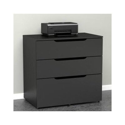 Nexera Next 3-Drawer Filing Cabinet