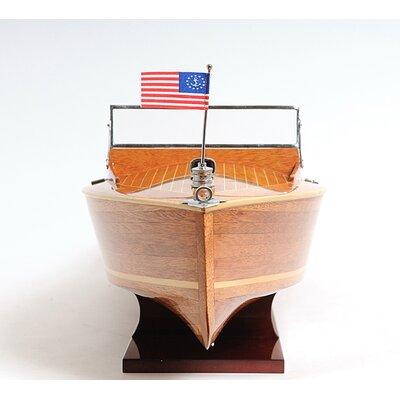 Old Modern Handicrafts Chris Craft Runabout Model Boat