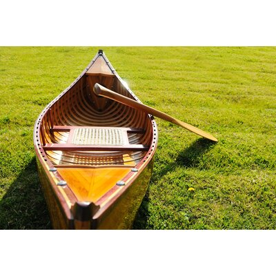 Old Modern Handicrafts 6 Feet Canoe with Ribs
