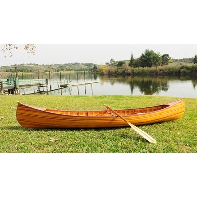 Old Modern Handicrafts Canoe with Ribs Curved Bow 12 feet