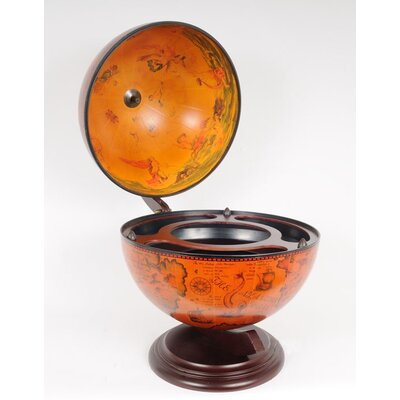 Old Modern Handicrafts Red Globe 33Cm (13 Inches)