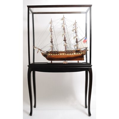 Old Modern Handicrafts Display Case With Legs