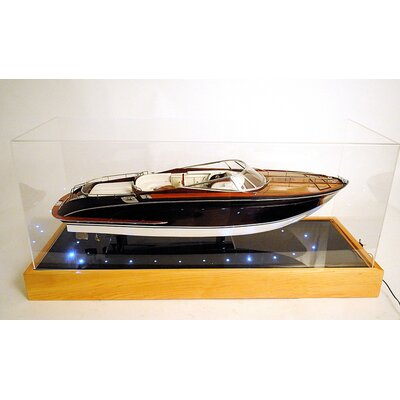 Old Modern Handicrafts Speed Boat Special Case