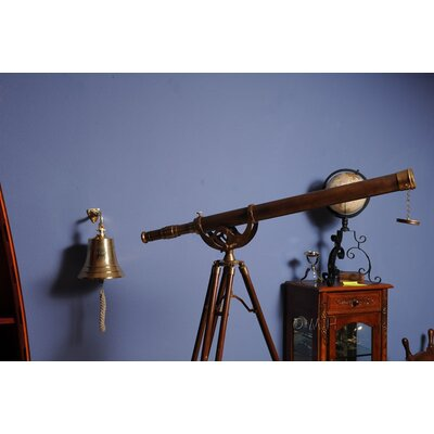 "Old Modern Handicrafts 40"" Telescope with Stand"