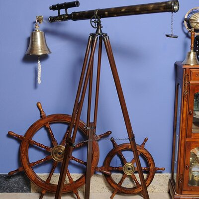 Old Modern Handicrafts Telescope with Stand