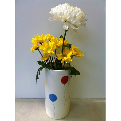 Garden Vase with Balloons Design