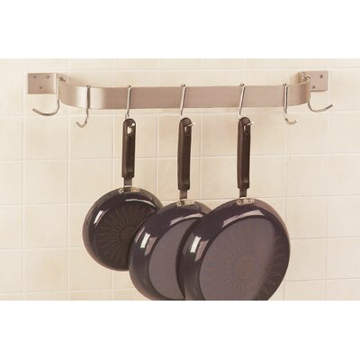 A-Line by Advance Tabco Wall Mounted Single Bar Pot Rack