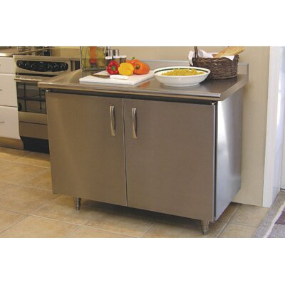 A-Line by Advance Tabco Professional Chef Kitchen Island with
