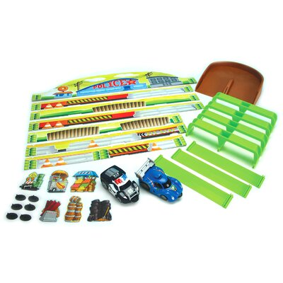 Lanard 9 Piece Demolition Tracks and Playsets