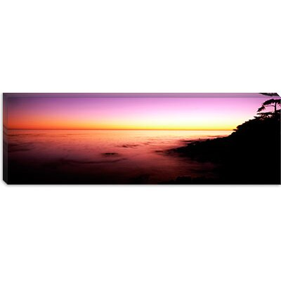 iCanvasArt Sea at Sunset, Point Lobos State Reserve, Carmel, Monterey County, California Canvas ...