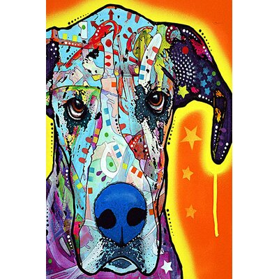 iCanvasArt 'Great Dane' by Dean Russo Graphic Art on Canvas