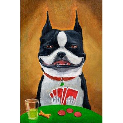 iCanvasArt 'BT Poker' by Brian Rubenacker Painting Print on Canvas