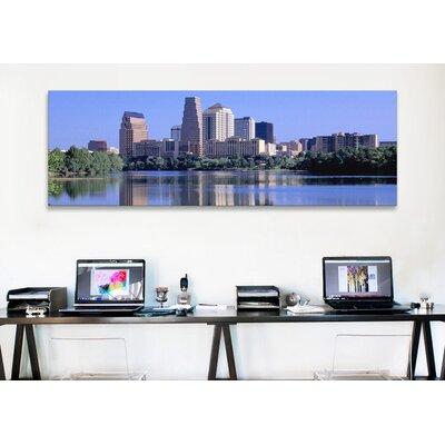 iCanvasArt Panoramic Austin, TX USA Photographic Print on Canvas