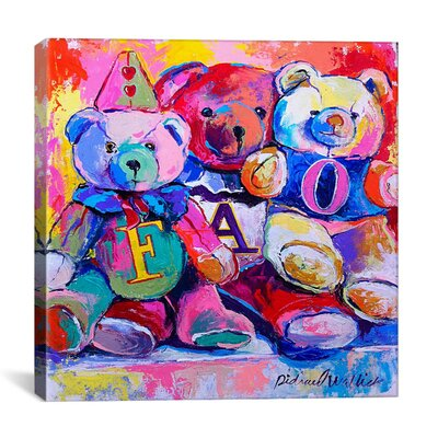 "iCanvasArt ""Bears"" Canvas Wall Art by Richard Wallich"