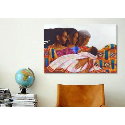 iCanvasArt 'Circle of Joy' by Keith Mallett Graphic Art on Canvas