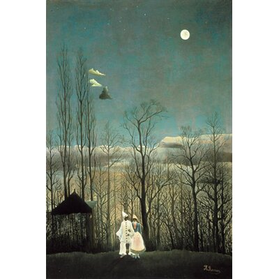 iCanvasArt 'A Carnival Evening 1886' by Henri Rousseau Painting Print on Canvas