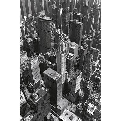 iCanvasArt 'Chrysler Building and Midtown Manhattan' by Chris Bliss Photographic Print on Canvas