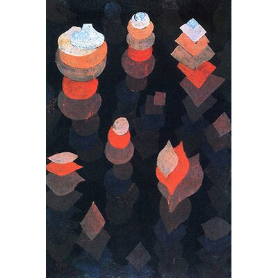iCanvasArt 'Growth of the Night Plants' by Paul Klee Painting Print on Canvas