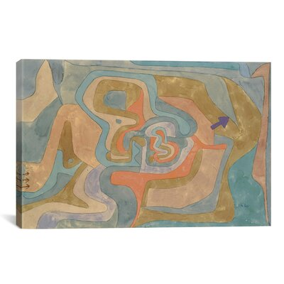 iCanvasArt 'Flying Away 1934' by Paul Klee Painting Print on Canvas