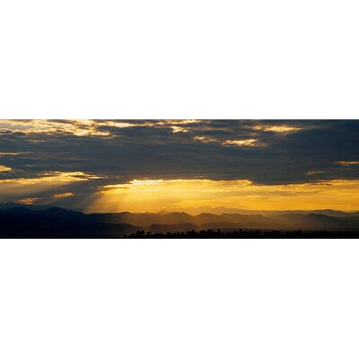 iCanvasArt Panoramic Clouds in the Sky, Daniels Park, Denver, Colorado Photographic Print on Canvas