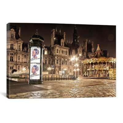 iCanvasArt 'Night Carnival' by Sebastien Lory Photographic Print on Canvas