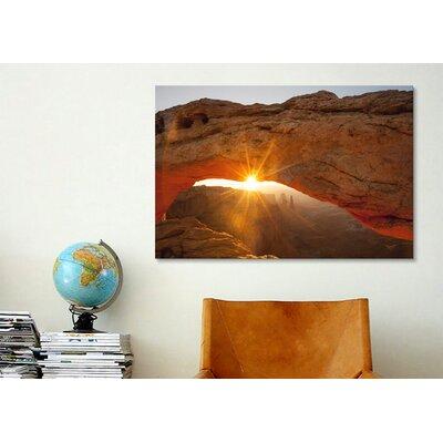 iCanvasArt 'Mesa Arch Beauty' by Dan Ballard Photographic Print on Canvas