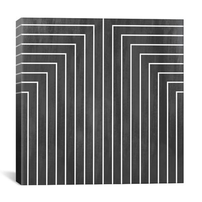 iCanvasArt Modern Art Mid Century Modern Geometric Pattern 90 Graphic Art on Canvas