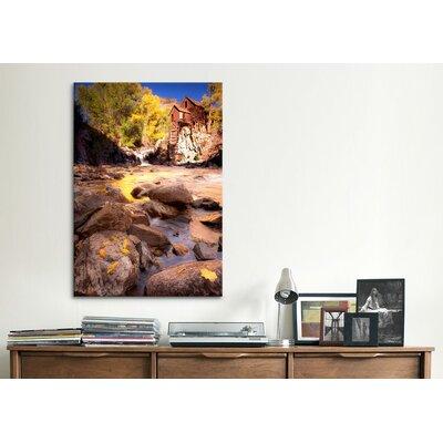 iCanvasArt 'Lost Mill' by Dan Ballard Photographic Print on Canvas
