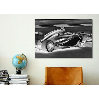 iCanvasArt Modern Art Formula 1 Graphic Art on Canvas