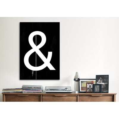 iCanvasArt Modern Art Symbol Graphic Art on Canvas