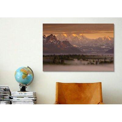 iCanvasArt 'Moods of Denali' by Dan Ballard Photographic Print on Canvas