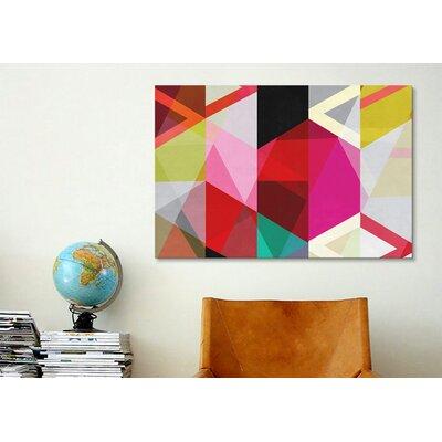 iCanvasArt Modern Art View Through a Kaleidoscope Graphic Art on Canvas