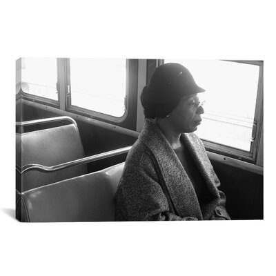 iCanvasArt African-American Culture 'Rosa Parks' Photographic Print on Canvas