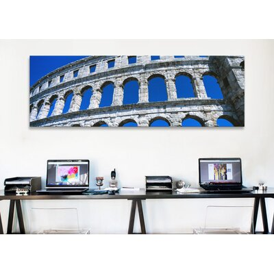 iCanvasArt Panoramic Roman Amphitheater, Pula, Croatia Photographic Print on Canvas