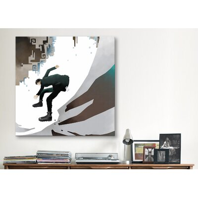 """iCanvasArt """"Spook"""" Canvas Wall Art by Youchan"""