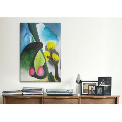 """iCanvasArt """"Spring"""" Canvas Wall Art by Georgia O'Keeffe"""