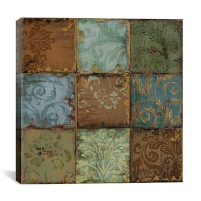 """iCanvasArt """"Tapestry Tiles"""" Canvas Wall Art by Daphne Brissonnet"""