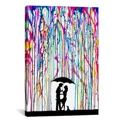 iCanvasArt 'Two Step' by Marc Allante Graphic Art on Canvas